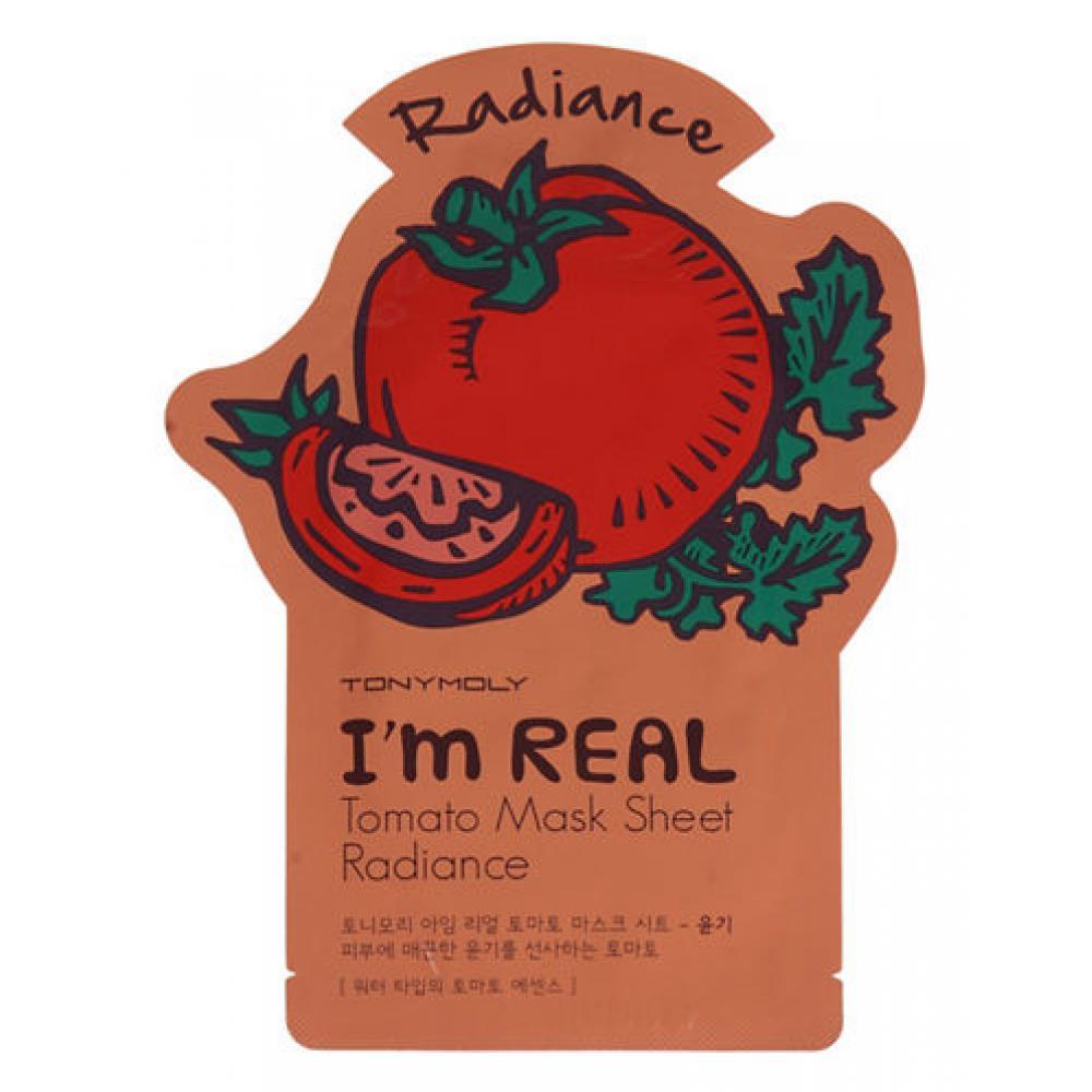 Купить Маска  с экстрактом томата - Tony Moly I'm Real Tomato Mask