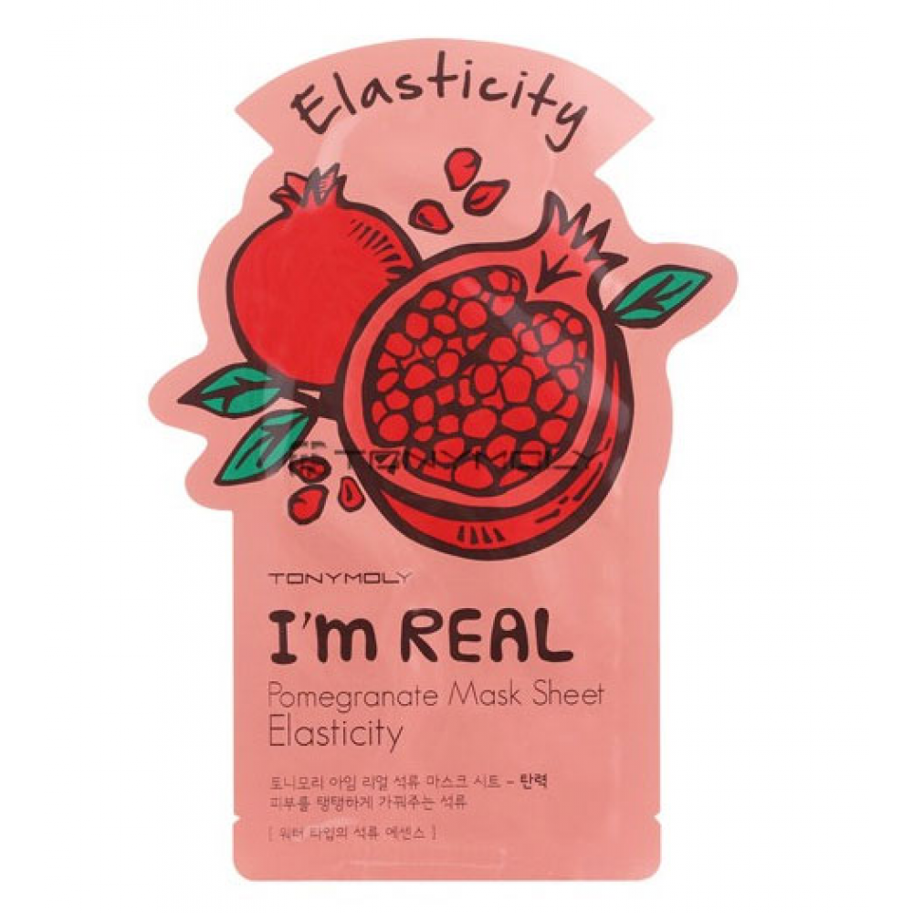 Купить Маска с экстрактом граната - Tony Moly I'm Real Pomegranate Mask