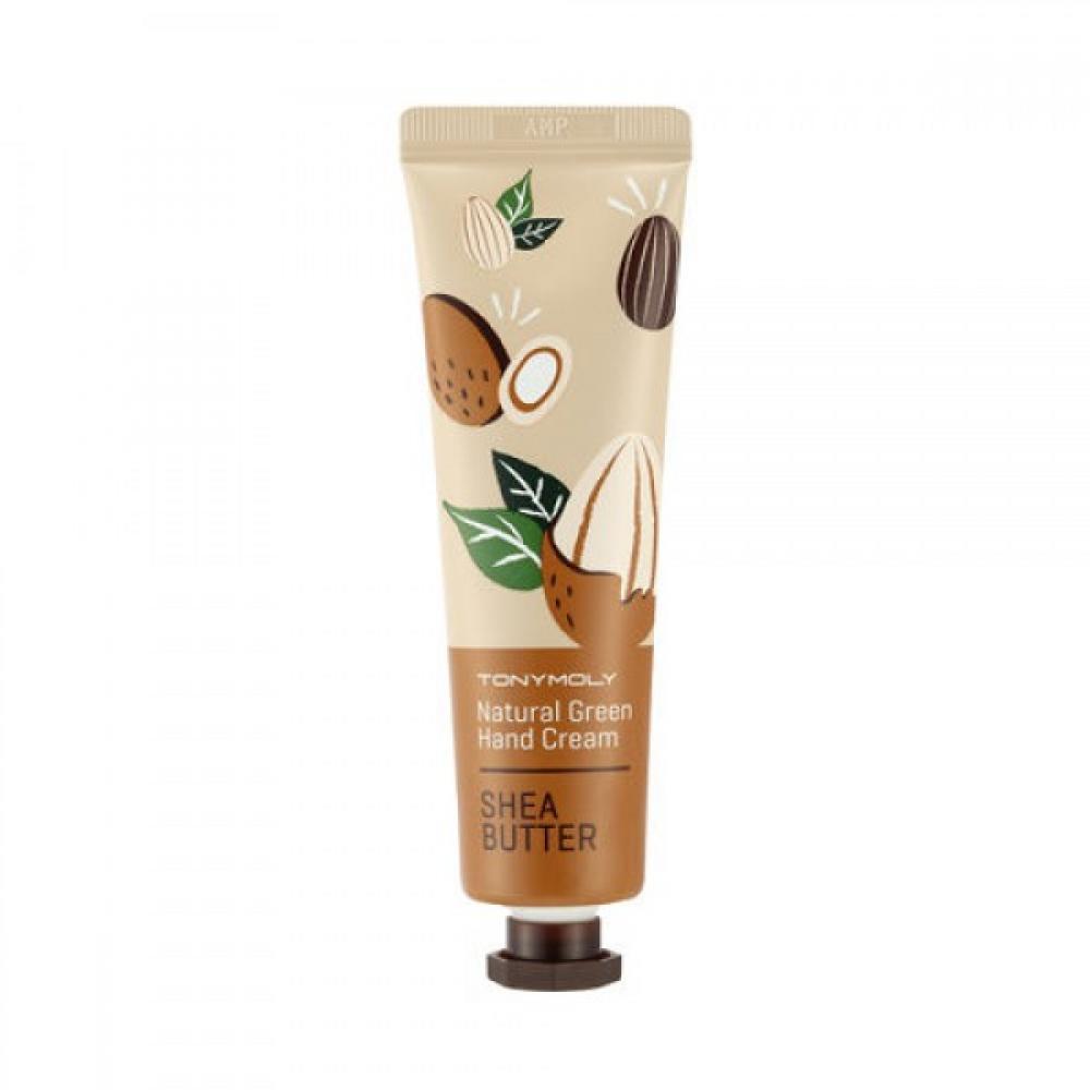 Купить Крем-масло для рук с маслом Ши Tony Moly Natural Green Hand Cream