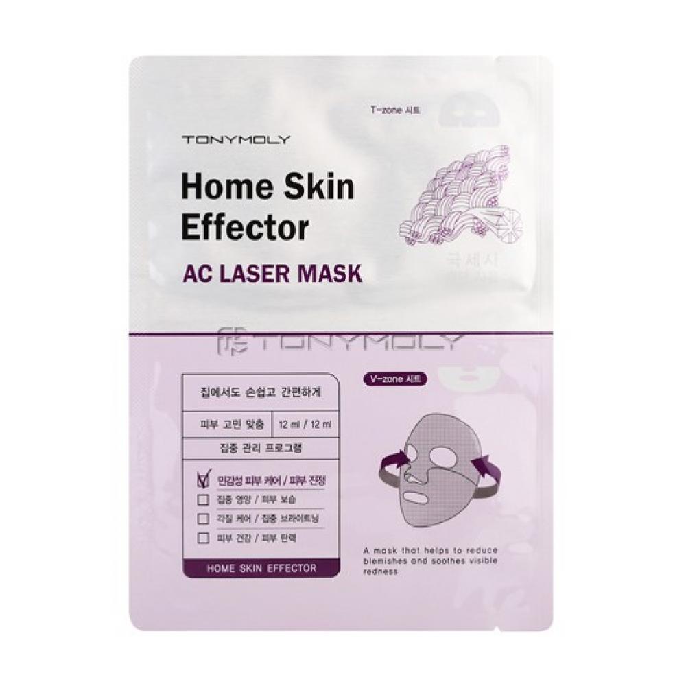 Купить Листовая маска - Tony Moly Home Skin Mask Effector AC Laser