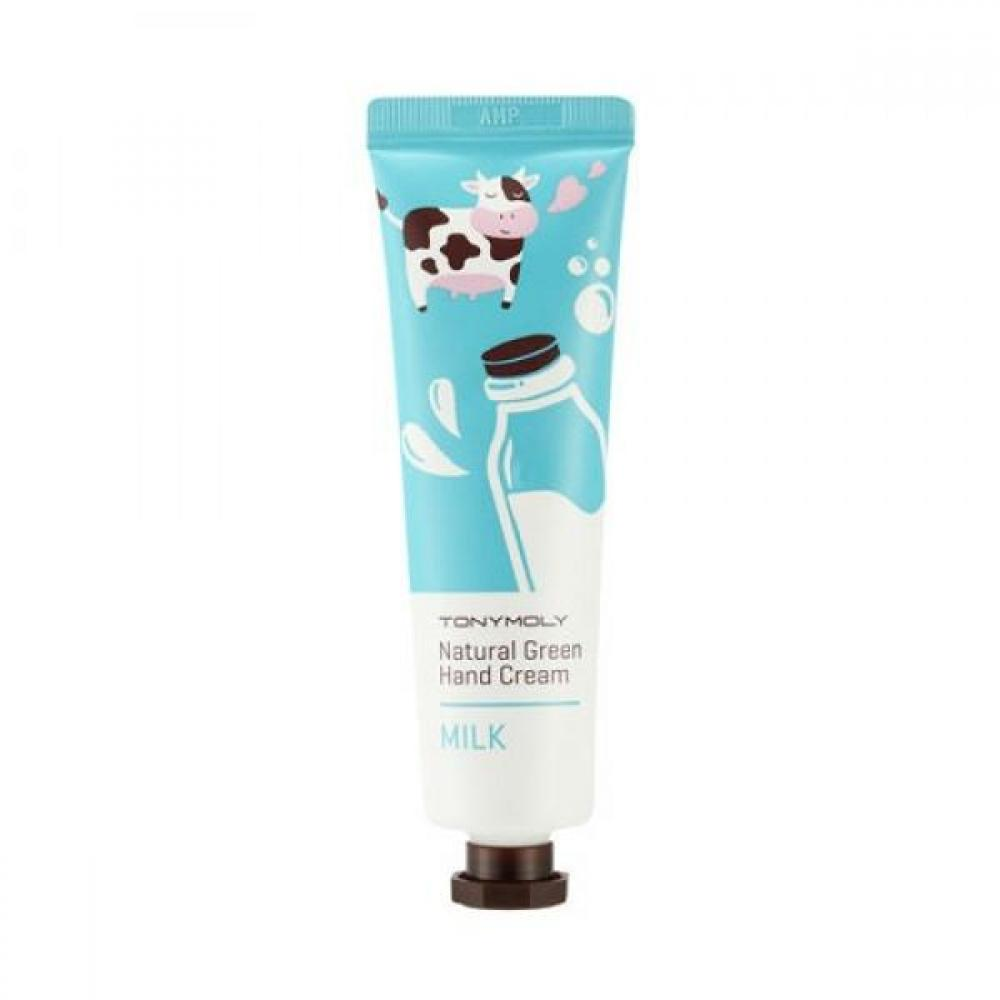 Купить Крем для рук с молоком - Tony Moly Natural Green Hand Cream Milk