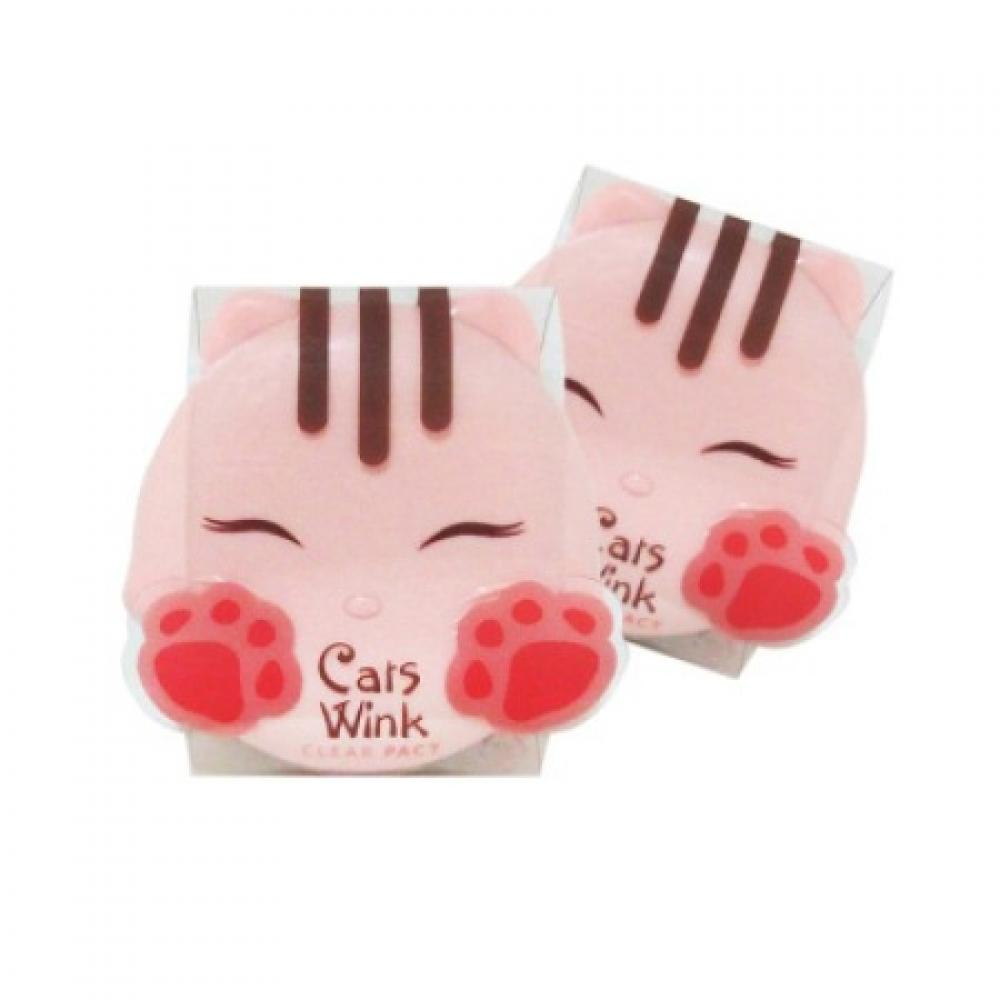 Купить Пудра - Tony Moly Cats Wink Clear Pact