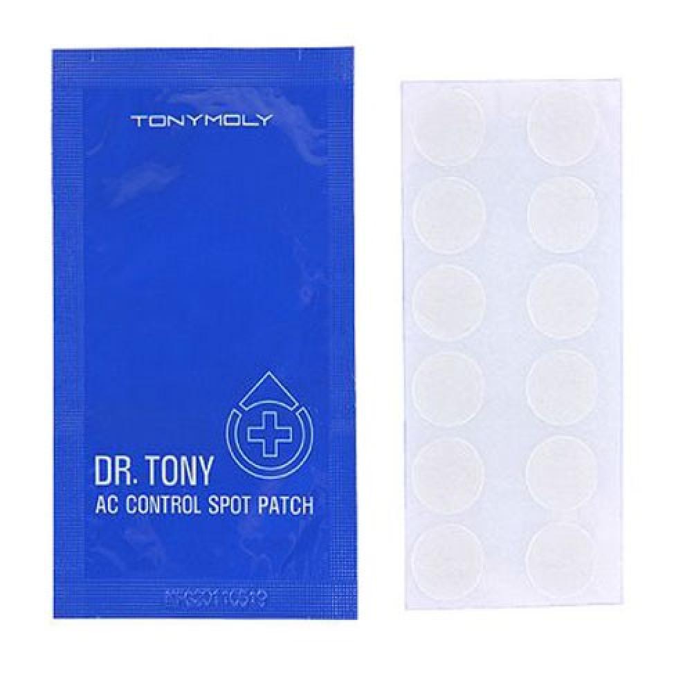 Купить Наклейки от угрей и несовершенств кожи - Tony Moly Dr.Tony AC Control Spot Patch